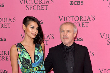 Damien Hirst Arrivals at the Victoria's Secret Fashion Show