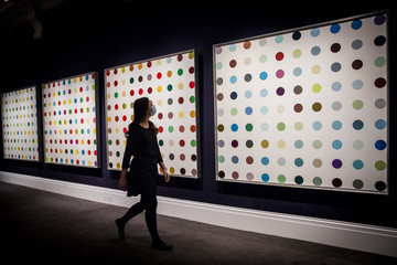 Damien Hirst Highlights From Sotheby's Forthcoming Livestreamed Contemporary Art Evening Auction On 21st October