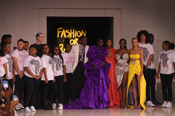 Runway - Fashion For Relief London 2019