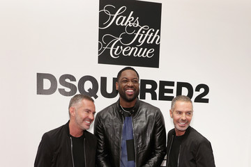 Dan Caten Saks Fifth Avenue Celebrates The Exclusive Launch Of The Dsquared2 x Dwyane Wade Capsule Collection