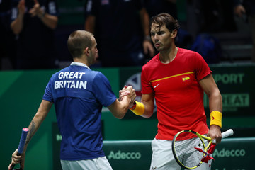 Dan Evans Great Britain Compete For 2019 Davis Cup