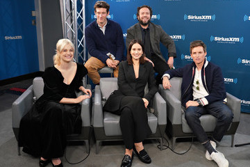 Dan Fogler Callum Turner SiriusXM's Town Hall With The Cast Of 'Fantastic Beasts: The Crimes Of Grindelwald'