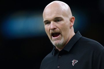 Dan Quinn Atlanta Falcons v New Orleans Saints