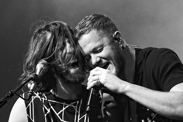 Dan Reynolds Imagine Dragons In Concert At T-Mobile Arena In Las Vegas
