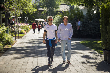Dan Schulman Annual Allen And Co. Meeting In Sun Valley Draws CEO's And Business Leaders To The Mountain Resort Town