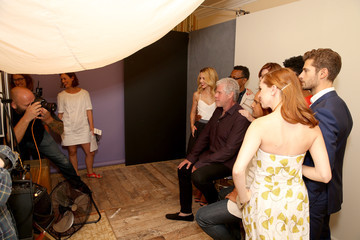 Dana Delany Behind The Scenes Of The Getty Images Portrait Studio Powered By Samsung Galaxy At 2015 Summer TCA's