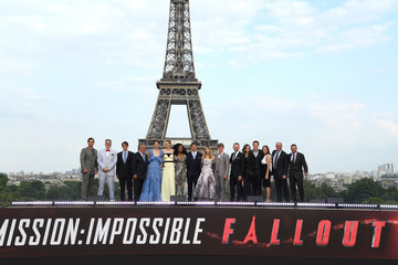 Dana Goldberg 'Mission: Impossible - Fallout' Global Premiere In Paris