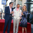 Dana Walden Terrence Howard Honored With A Star On The Hollywood Walk Of Fame