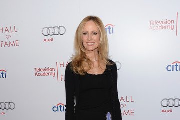 Dana Walden Arrivals at the Hall of Fame Induction Gala