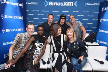 Danai Gurira Andrew Lincoln SiriusXM's Entertainment Weekly Radio Broadcasts Live From Comic Con in San Diego