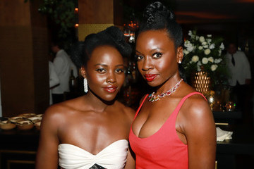 Danai Gurira Lupita Nyong'o 2020 Netflix SAG After Party