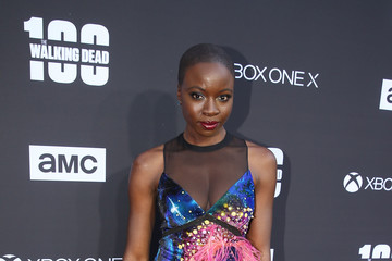 Danai Gurira 'The Walking Dead' 100th Premiere and Party
