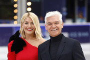 Holly Willoughby and Phillip Schofield during a photocall for the new series of Dancing On Ice at the Natural History Museum Ice Rink on December 18, 2018 in London, England.