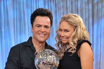 """Donny Osmond Kym Johnson """"Dancing With The Stars"""" Visits ABC's """"Good Morning America"""""""