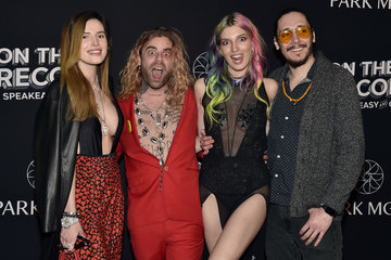 Dani Thorne On The Record Speakeasy And Club Red Carpet Grand Opening Celebration At Park MGM