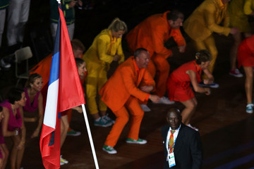 Daniel Bailey 20th Commonwealth Games Opening Ceremony