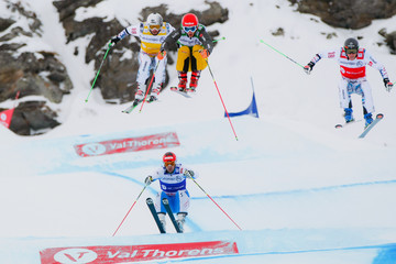 Daniel Bohnacker FIS Freestyle Ski World Cup: Men's and Women's Ski Cross