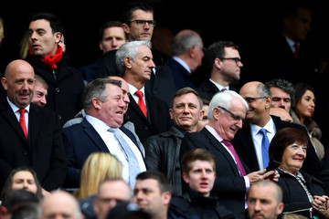 Daniel Craig Liverpool v Everton - Premier League