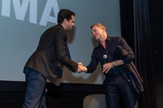 Actor Daniel Craig and Rajendra Roy attend The Museum of Modern Art's Screening of Casino Royale at MOMA on March 03, 2020 in New York City.