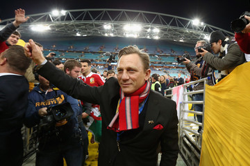 Daniel Craig Australia v British & Irish Lions: Game 3