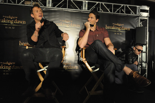 Bewley and Daniel Cudmore attend The Twilight Saga  Breaking Dawn    Daniel Cudmore Breaking Dawn
