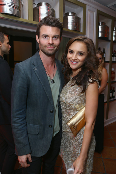 Daniel Gillies Actress Rachael Leigh Cook (R) and Daniel Gillies attend The 2012 Entertainment Weekly Pre-Emmy Party Presented By L'Oreal Paris at Fig & Olive Melrose Place on September 21, 2012 in West Hollywood, California.