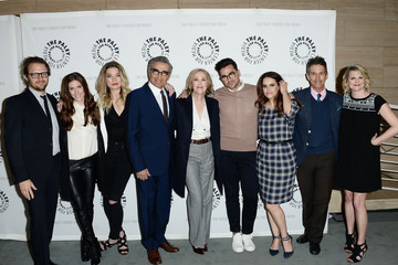 Daniel Levy Emily Hampshire Paley Center for Media Presents PaleyLive LA: An Evening with 'Schitt's Creek' - Arrivals