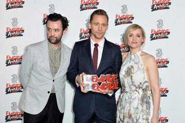 Daniel Mays Three Empire Awards - Winners Room