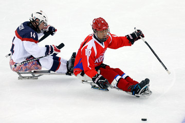 Daniel McCoy 2014 Paralympic Winter Games - Day 2