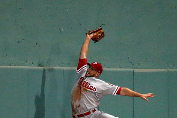 Daniel Nava Philadelphia Phillies v Boston Red Sox