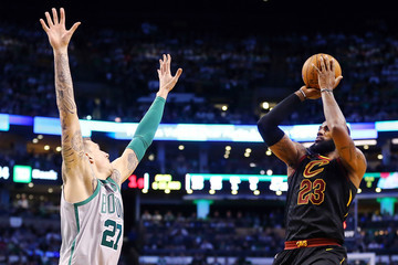 Daniel Theis Cleveland Cavaliers v Boston Celtics