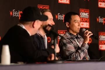 Daniel Wu Miles Millar C2E2 'Into The Badlands' Premiere Screening And Panel