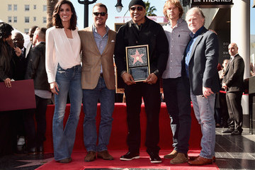 Daniela Ruah LL Cool J Honored With Star on the Hollywood Walk of Fame