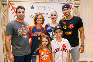 Daniella Rodriguez Macy's Celebrates The 2017 World Series Champions With Meet And Greet By Houston Astros Carlos Correa