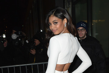 Danielle Herrington Sports Illustrated Swimsuit 2017 Launch Event - Outside Arrivals