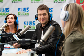 Danielle Monaro Michael Buble Loves Morning Radio Shows