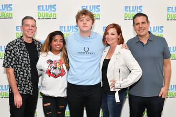 Danielle Monaro Lewis Capaldi Visits 'Elvis Duran And The Z100 Morning Show'