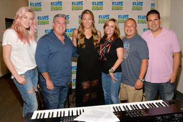 Danielle Monaro Colbie Callait Visits a Radio Morning Show