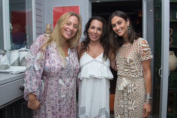 Danielle Snyder Hamptons Magazine Editor in Chief Samantha Yanks for the Fourth Annual Ladies Night