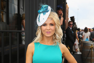 Danielle Spencer Celebs Attend Melbourne Cup Day