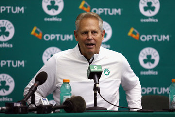 Danny Ainge Boston Celtics Media Day