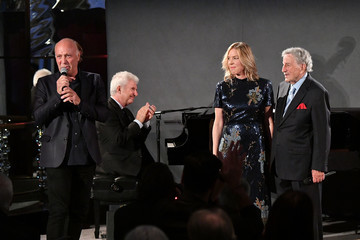 Danny Bennett Tony Bennett And Diana Krall Celebrate Release Of Their New Album