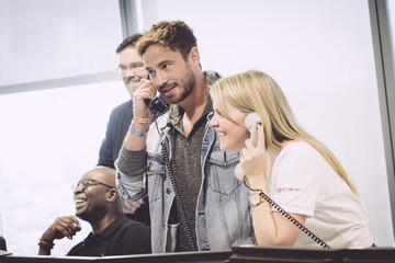 Danny Cipriani The 13th Annual BGC Charity Day At BGC Partners In London's Canary Wharf - Behind The Scenes Colour