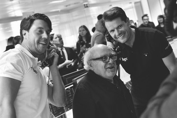 Danny DeVito The 13th Annual BGC Charity Day at BGC Partners in London's Canary Wharf - Behind the Scenes