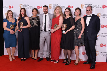Danny Dyer Virgin TV BAFTA Television Awards - Winner's Room