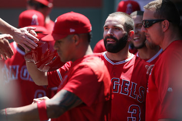 Danny Espinosa Los Angeles Angels of Anaheim v Boston Red Sox