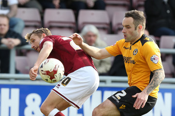 Danny Holmes Northampton Town v Newport County - Sky Bet League Two