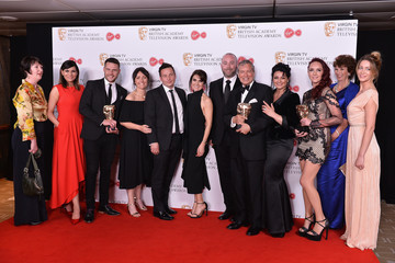 Danny Miller Virgin TV BAFTA Television Awards - Winner's Room