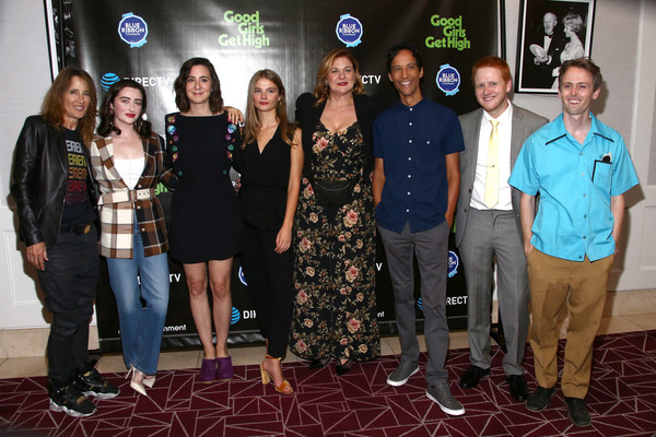 "DIRECTV Cinema & Warner Bros. Present ""Good Girls Get High"" [social group,event,community,youth,team,carpet,adaptation,recreation,flooring,games,good girls get high,anne ramsay,jenica bergere,blake rosier,danny pudi,abby quinn,laura terruso,stefanie scott,directv cinema,warner bros.]"