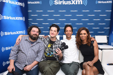 Danny Pudi SiriusXM's Entertainment Weekly Radio Broadcasts Live From Comic-Con In San Diego